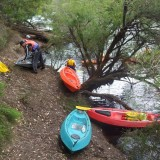 Launching Canoes Into The Blackwood River
