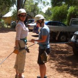 Sarah Shows Alana Her Rope Trick