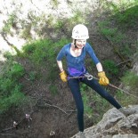 Young Sarah Braces For Descent