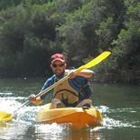 Owen the kayak legend at play