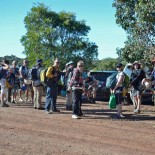 Assembling to abseil at Wiliabrup