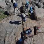 A rocky descent