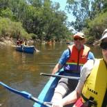 Canoes rule the Blackwood