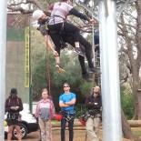 Vertical rescue demo