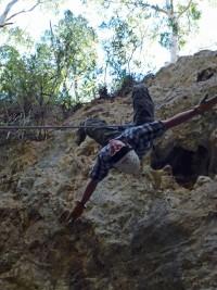 Nik Decending In A Crucificx