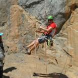 Brett demonstrates changing ropes